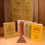 Field Notes National Crops - Contents - Notegeist dot com