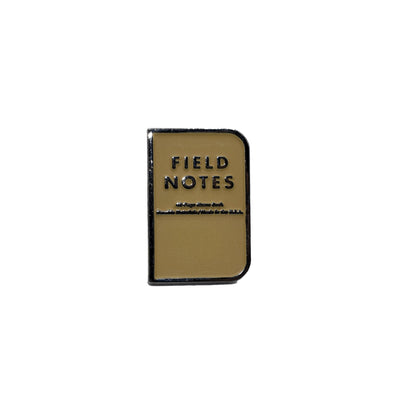 DDC Enamel Pin - Field Notes