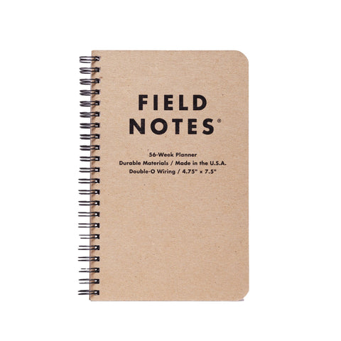 Field Notes Planner - Notegeist dot com