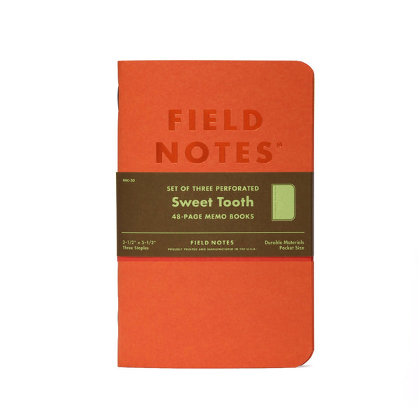 Field Notes Sweet Tooth - Notegeist dot com