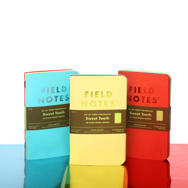 Field Notes Sweet Tooth - Covers - Notegeist dot com