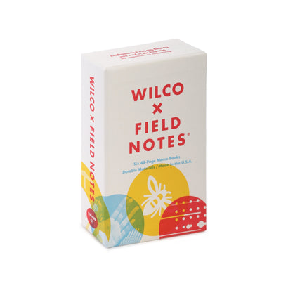 Field Notes Wilco Box Set - Notegeist dot com
