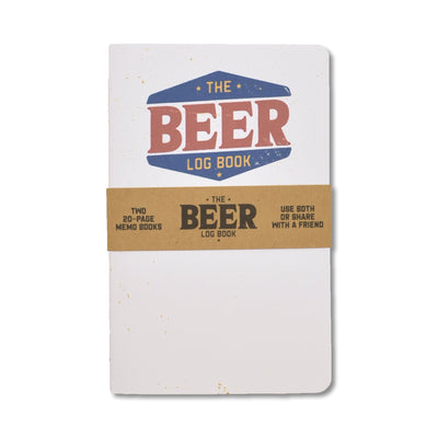 Justin Ryan Books - Beer Log Book - Notegeist dot com
