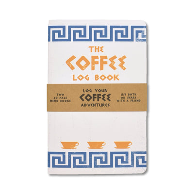 Justin Ryan Books - Coffee Log Book - Notegeist dot com