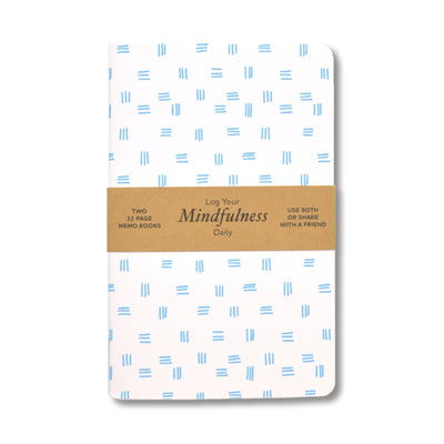 Justin Ryan Books - Mindfulness Log Book - Notegeist dot com