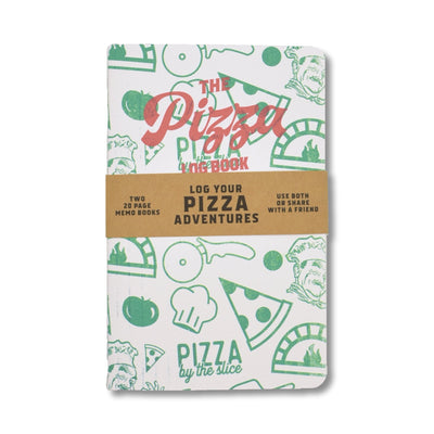 Justin Ryan Books - Pizza Log Book - Notegeist dot com