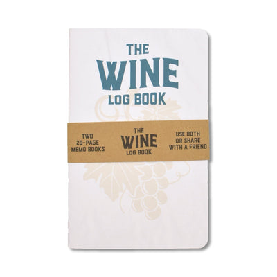 Justin Ryan Books - Wine Log Book - Notegeist dot com