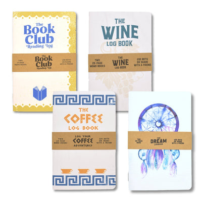 Log Book Holiday Gift Pack - Notegeist dot com
