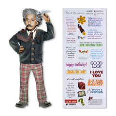 Unemployed Philosophers Guild Quotable Notables Notecard - Albert Einstein