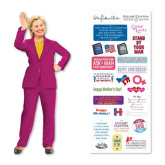 Unemployed Philosophers Guild Quotable Notables Notecard - Hillary Clinton - Notegeist dot com