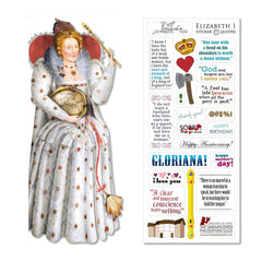 Unemployed Philosopher Guild Quotable Notables Notecard - Queen Elizabeth I - Notegeist dot com