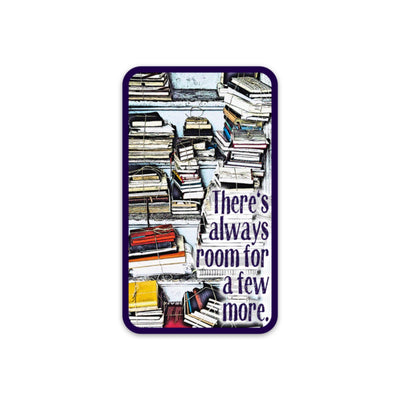 Always Room For More Notebooks Sticker - Notegeist dot com