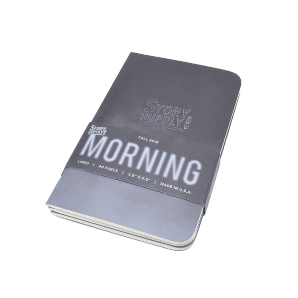 Story Supply Morning Notebooks - Pack