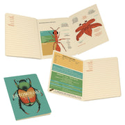 Unemployed Philosophers Guild - Entomology Pocket Notebook - Notegeist dot com - Spread