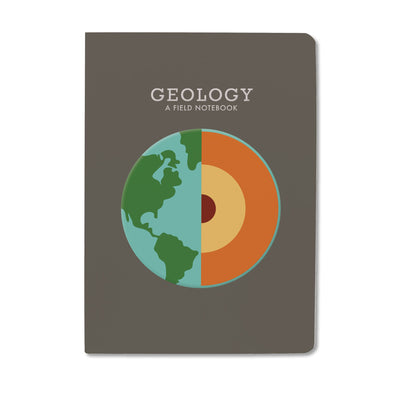 Unemployed Philosophers Guild Passport Notebook - Geology - Notegeist dot com