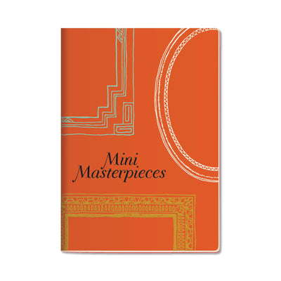 Unemployed Philosophers Guild Passport Notebook - Mini Masterpieces - Notegeist dot com
