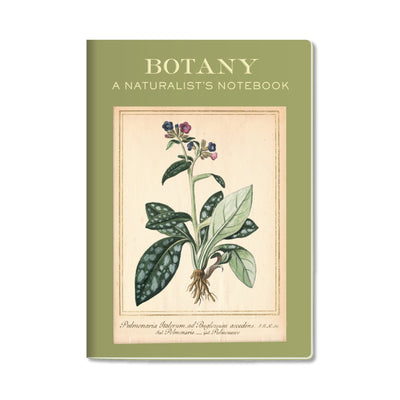Unemployed Philosophers Guild Passport Notebook - Botany - Notegeist dot com