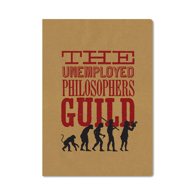 Unemployed Philosophers Guild Passport Notebook - UPG - Notegeist dot com