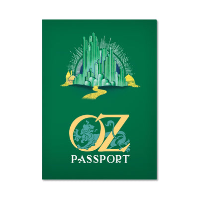 Unemployed Philosophers Guild Passport Notebook - Oz - Notegeist dot com