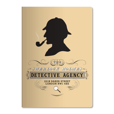 Unemployed Philosophers Guild LARGE Notebook - Sherlock Holmes - Notegeist dot com
