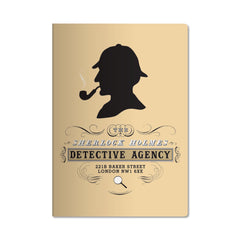Unemployed Philosophers Passport Notebook - Sherlock Holmes - Notegeist dot com
