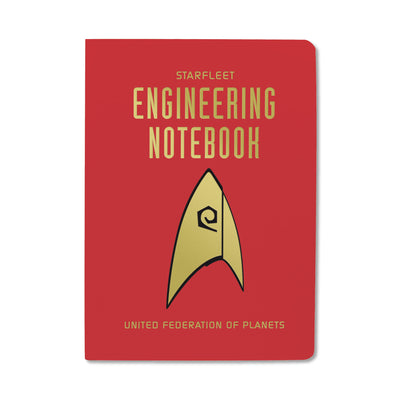 Unemployed Philosophers Guild Passport Notebook - Star Trek Engineering - Notegeist dot com