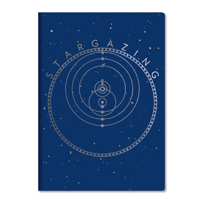 Unemployed Philosophers Guild LARGE Notebook - Stargazing - Notegeist dot com
