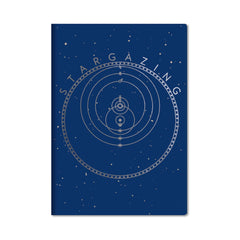 Unemployed Philosophers Guild Passport Notebook - Stargazing - Notegeist dot com