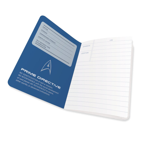 Unemployed Philosophers Guild Star Trek Captains Log Notebook Inside 2