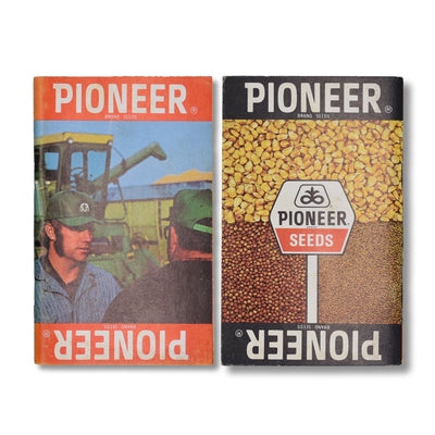 Vintage Memo Book - Pioneer Seeds - 1976 - Notegeist dot com