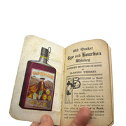 Vintage Memo Book - Old Quaker Whiskey - Inside 1