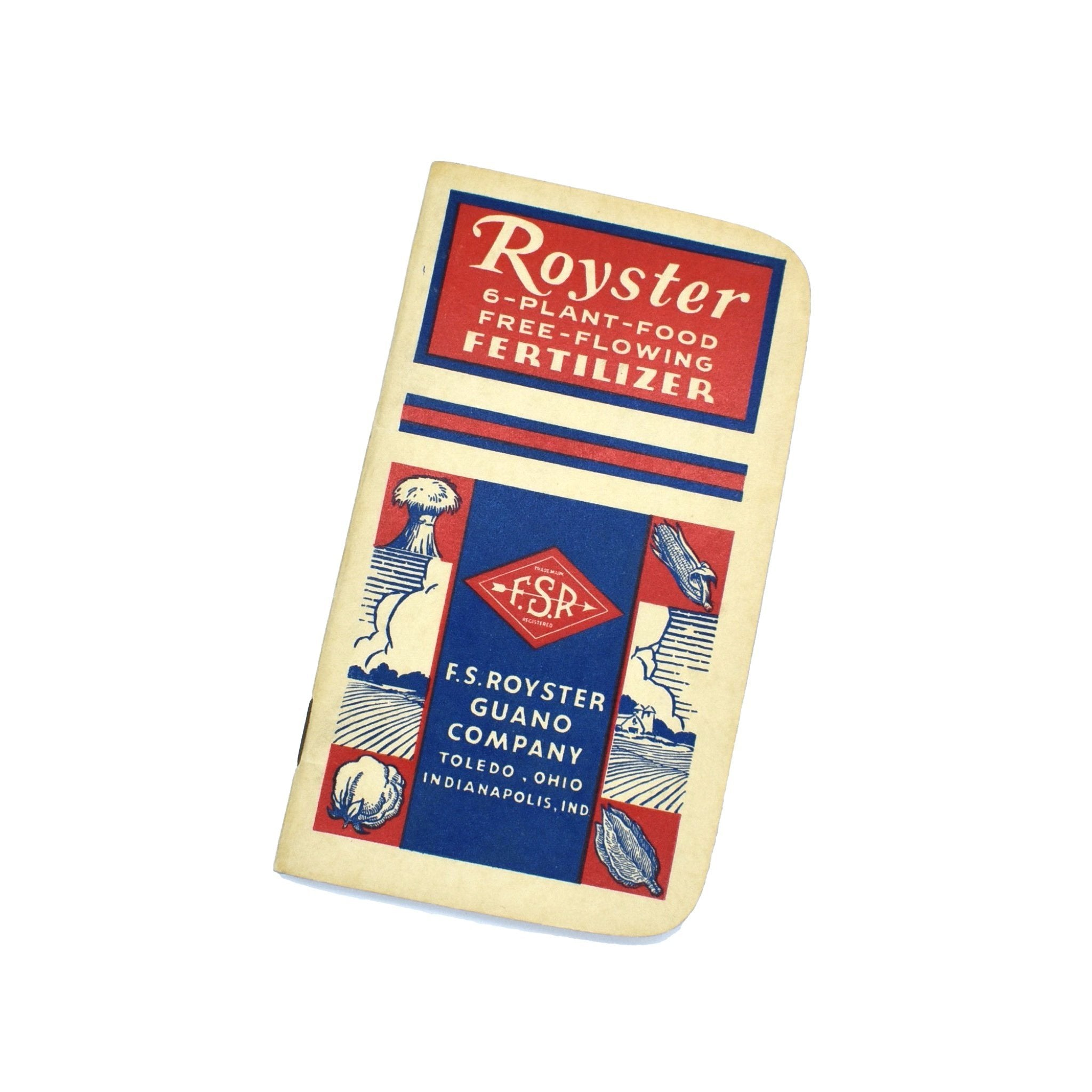 Vintage Memo Book - Royster Fertilizer