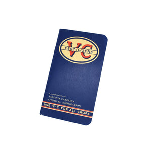 Vintage Memo Book - VC Fertilizers - Notegeist dot com
