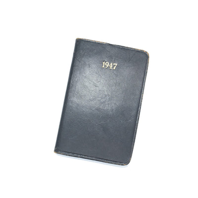 Vintage Pocket Diary - International Paper Co 1947