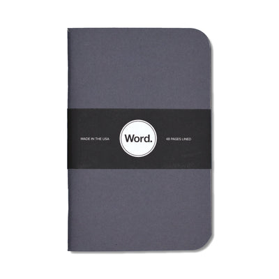 Word. Denim Notebooks - Notegeist dot com