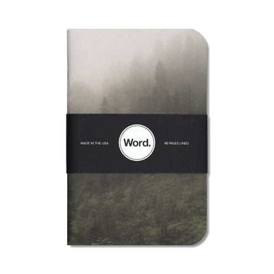 Word. Mist Notebooks - Notegeist dot com