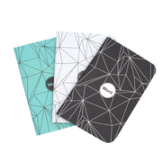 Word Mixed Polygon Pocket Notebook - Covers - Notegeist dot com