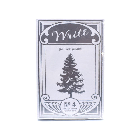 Limited Edition Write Notepads - In the Pines - Notegeist dot com
