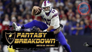 Buffalo Bills Fantasy Breakdown