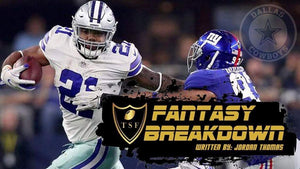 Dallas Cowboys Fantasy Breakdown