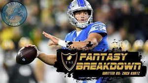 Detroit Lions Fantasy Breakdown