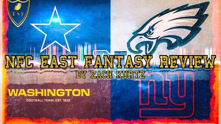 2020 NFC East Fantasy Review