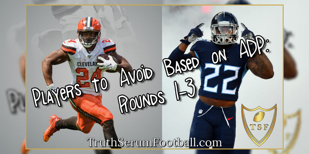 Players to Avoid Based on ADP: Rounds 1-3