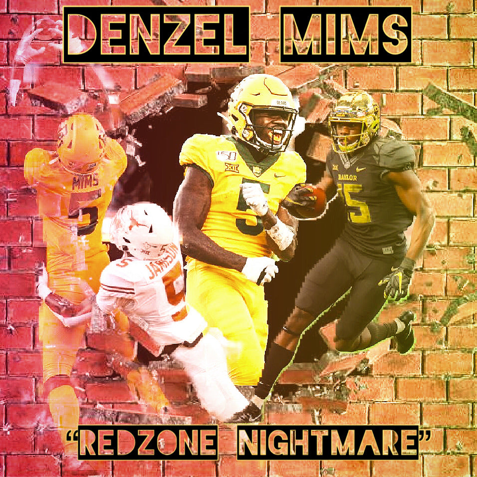 Denzel Mims - The Redzone Nightmare