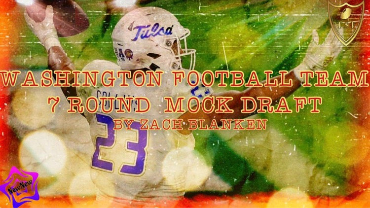 Washington Football Team 7 Round Mock Draft