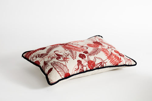 Oblong Cockatoo Cushions