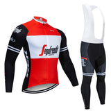 Men's Winter Cycling Jersey & Bib Tight Set