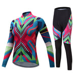 Women's Winter Cycling Jersey Set
