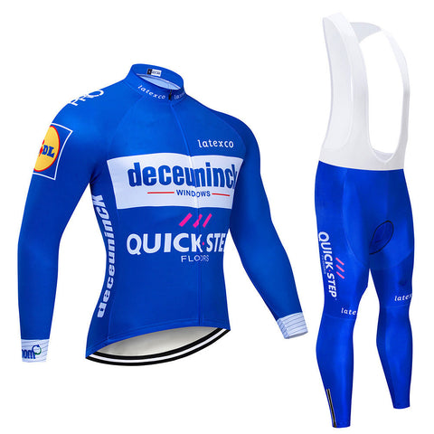 Men's Summer Cycling Jersey & Bib Tight Set