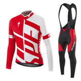 Men's Specialized Winter Cycling Jersey/Bib Tight Set